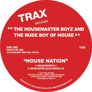 Housemaster Boyz/HOUSE NATION 12""