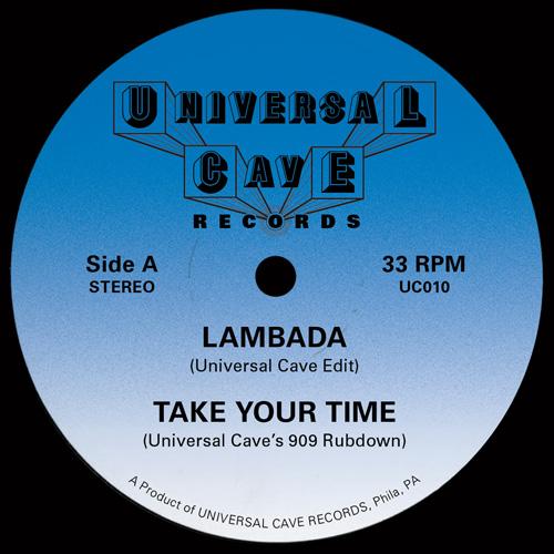 "Universal Cave/LAMBADA EDIT 12"""