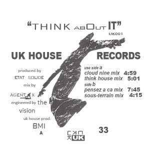 K Hand/THINK ABOUT IT 12""