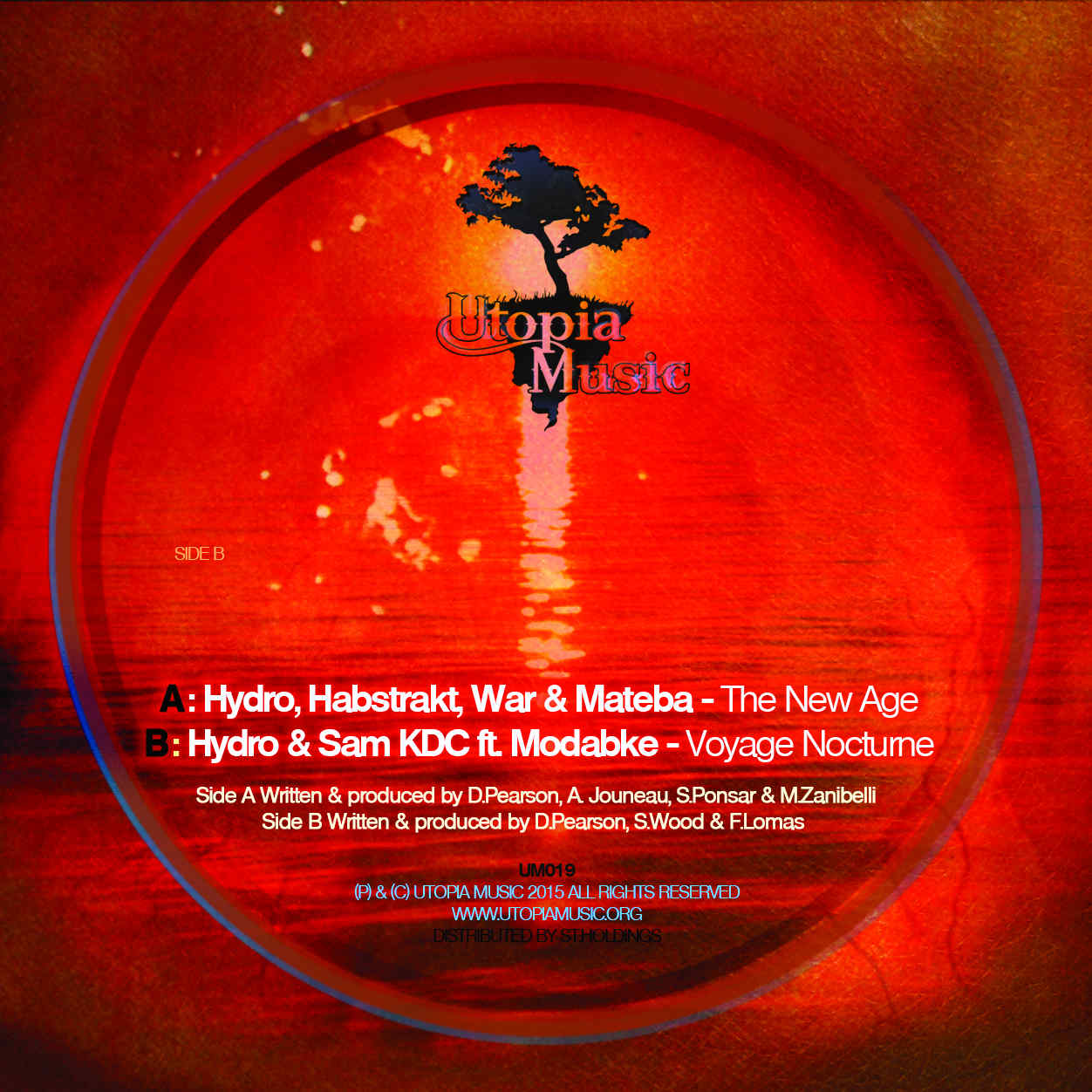 Hydro/THE NEW AGE 12""