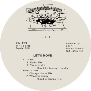 ESP/LET'S MOVE 12""