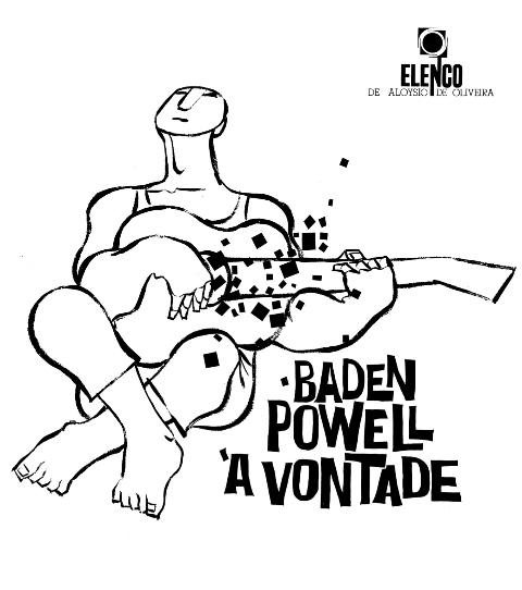 Baden Powell/A VONTADE (1964) LP