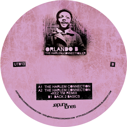 Orlando B/THE HARLEM CONNECTION EP 12""