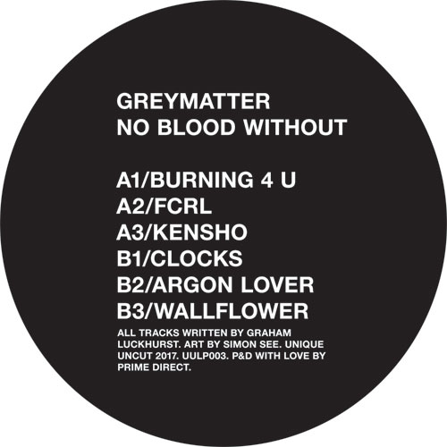 Greymatter/NO BLOOD WITHOUT LP