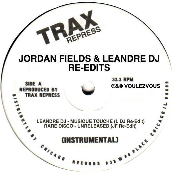 """Jordan Fields & Leandre/TRAX REPRESS 12"""""""