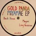"""Gold Panda/MIYAMAE EP 12"""""""