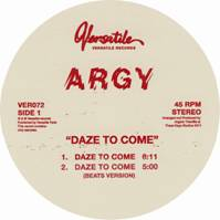 """Argy/DAZE TO COME - THE DIFFERENCE 12"""""""