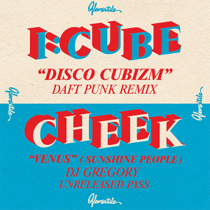 "I:Cube/DISCO CUBIZM (DAFT PUNK RMX) 12"""