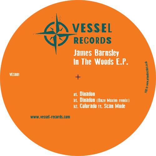 James Barnsley/IN THE WOODS EP 12""