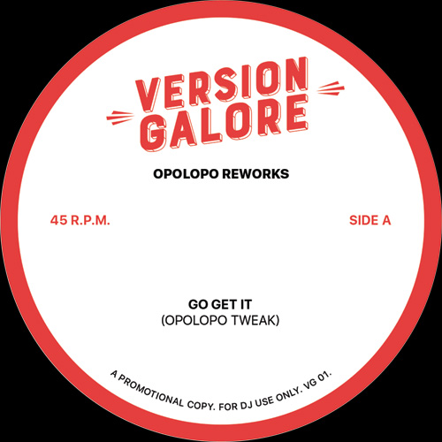 Version Galore/OPOLOPO RE-EDITS 12""