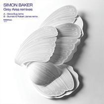 """Simon Baker/GREY AREA REMIXES 12"""""""