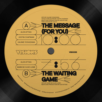 Alex Attias/THE MESSAGE (FOR YOU) 12""