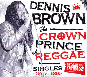 Dennis Brown/CROWN PRINCE OF REGGAE LP