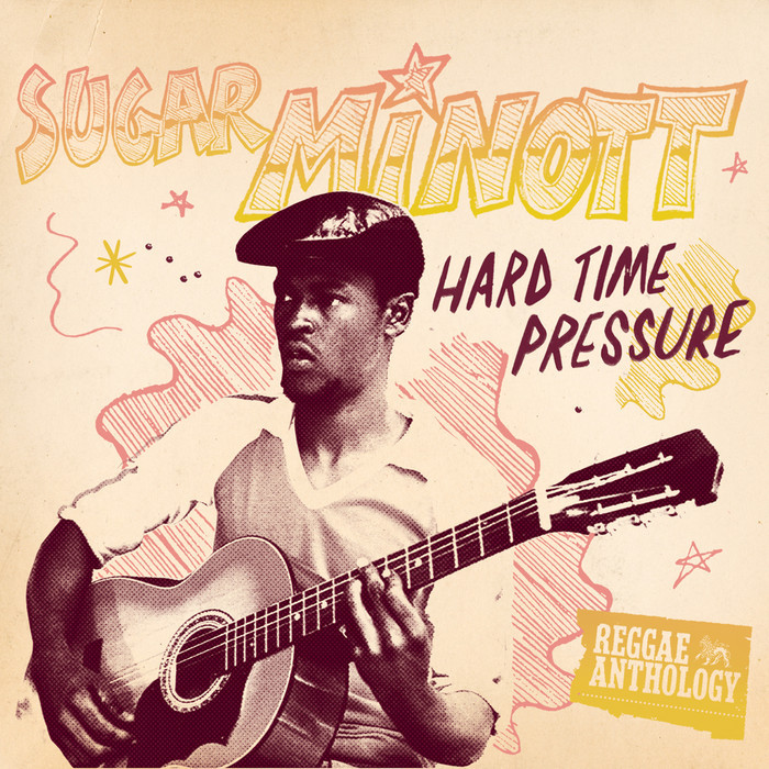 Sugar Minott/HARD TIME PRESSURE LP