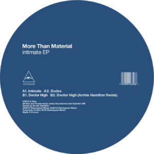 More Than Material/INTIMATE EP 12""