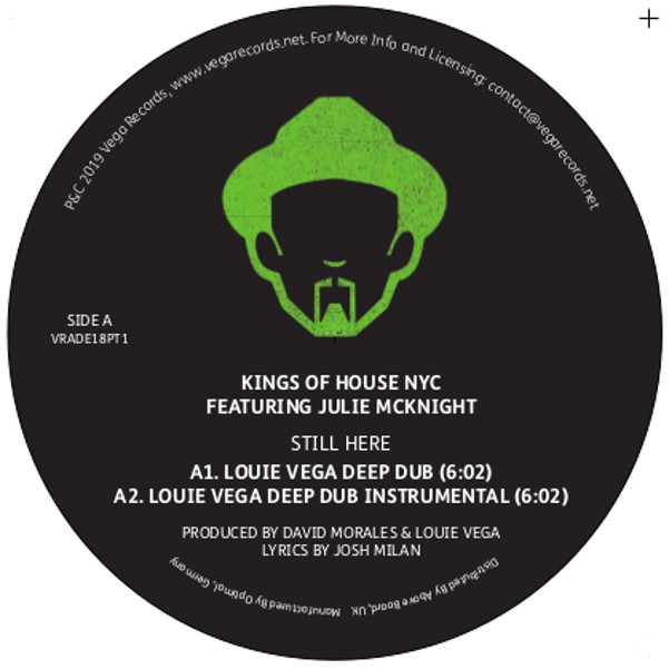 Louie Vega/VEGA RECORDS ADE 2018 #1 12""