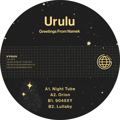 Urulu/GREETINGS FROM NAMEK 12""