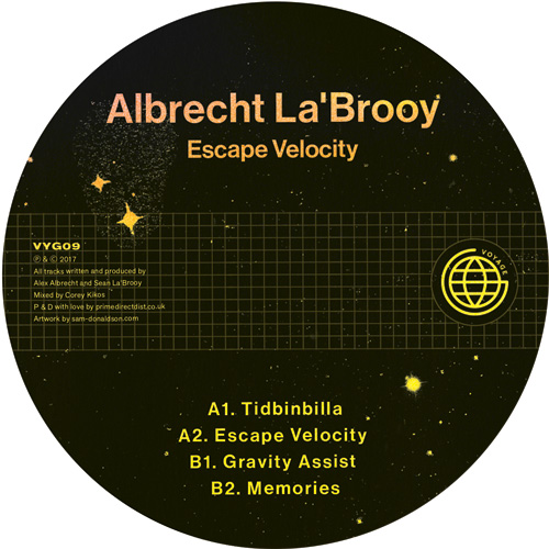 Albrecht La'Brooy/ESCAPE VELOCITY 12""
