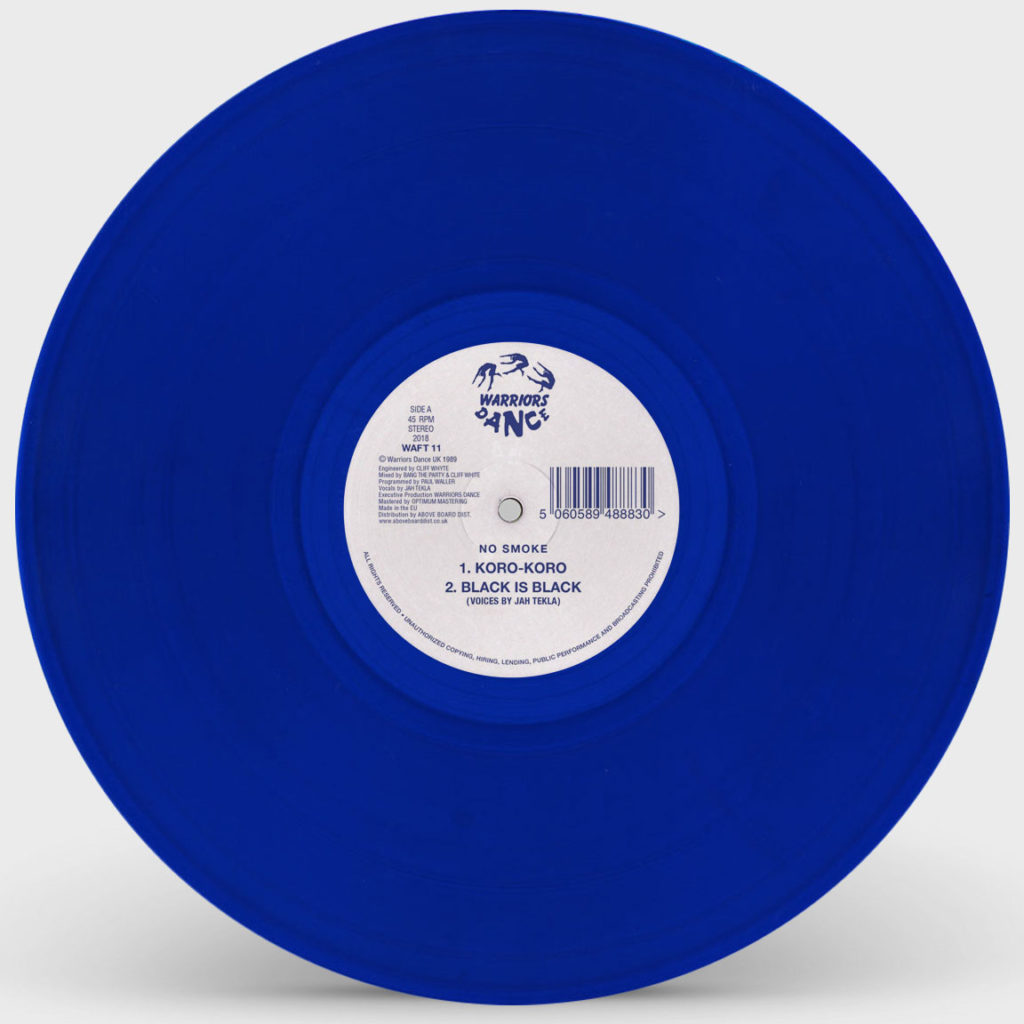 No Smoke/KORO-KORO (BLUE VINYL) 12""