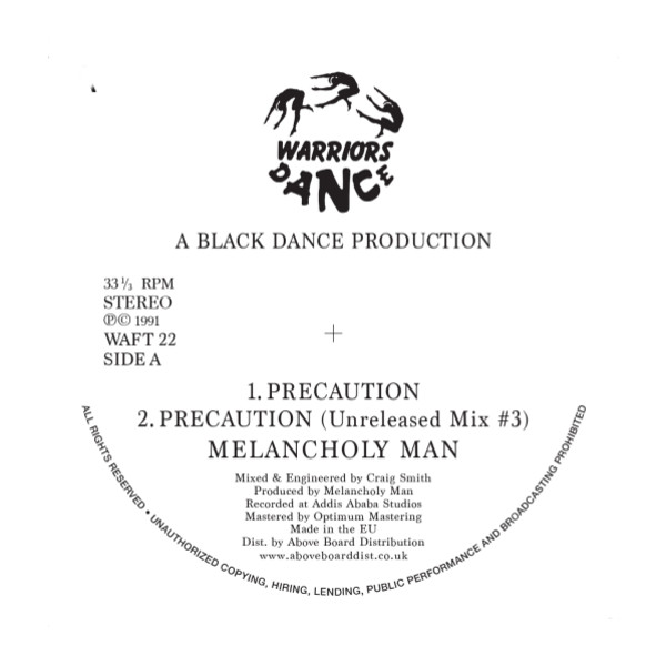 "Melancholy Man/PRECAUTION 12"""