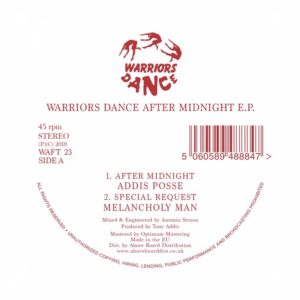 Various/WARRIORS DANCE AFTER MIDNITE 12""