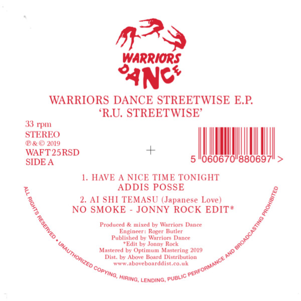 "Various/R.U. STREETWISE EP -RSD 12"""