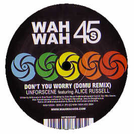 Unforscene/DON'T YOU WORRY(DOMU RMX) 12""
