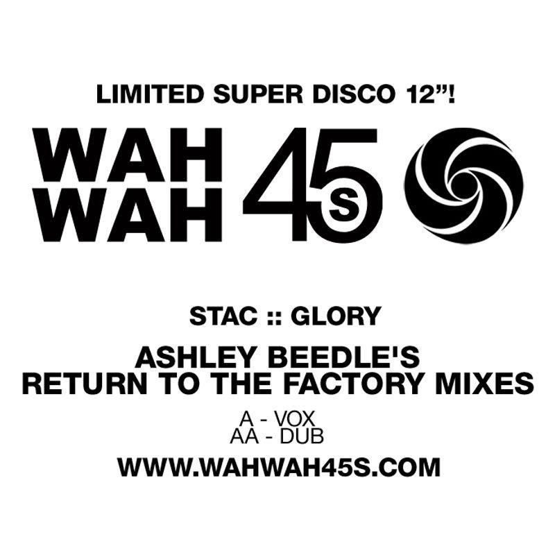 """Stac/GLORY ASHLEY BEEDLE REMIX 12"""""""