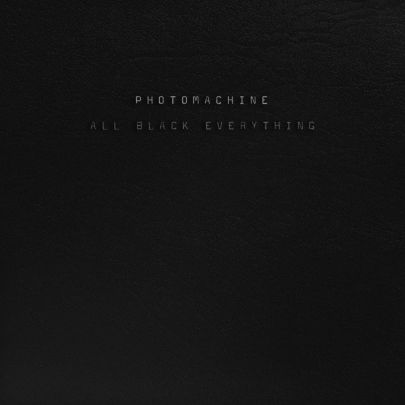 "PhOtOmachine/ALL BLACK EVERYTHING EP 12"""