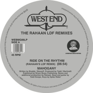 Rahaan/THE LDF REMIXES D12""