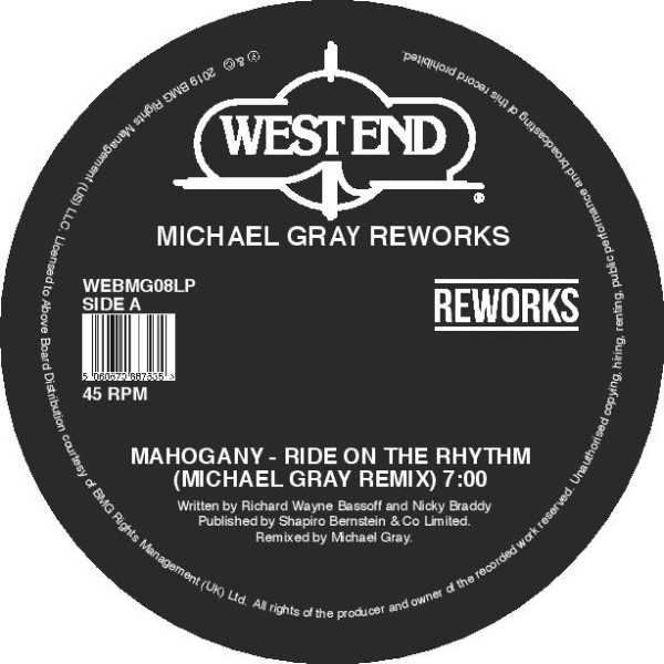 Michael Gray/WEST END REWORKS 12""