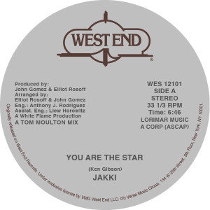 """Jakki/YOU ARE THE STAR 12"""""""