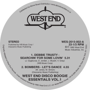 Various/WEST END DISCO BOOGIE VOL. 1 12""