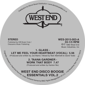 Various/WEST END DISCO BOOGIE VOL. 2 12""