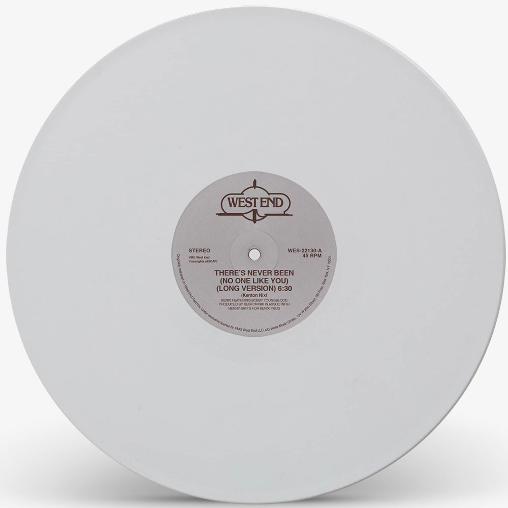 Kenix Music/THERE'S NEVER... (WHITE) 12""