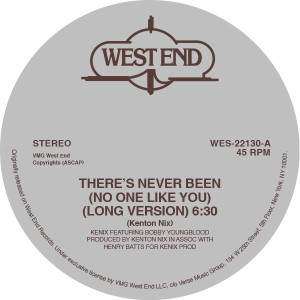Kenix Music/THERE'S NEVER BEEN... 12""