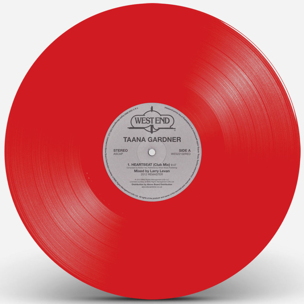 Taana Gardner/HEARTBEAT (RED) 12""