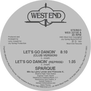"""Sparque/LET'S GO DANCING 12"""""""