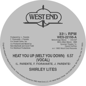 Shirley Lites/HEAT YOU UP 12""