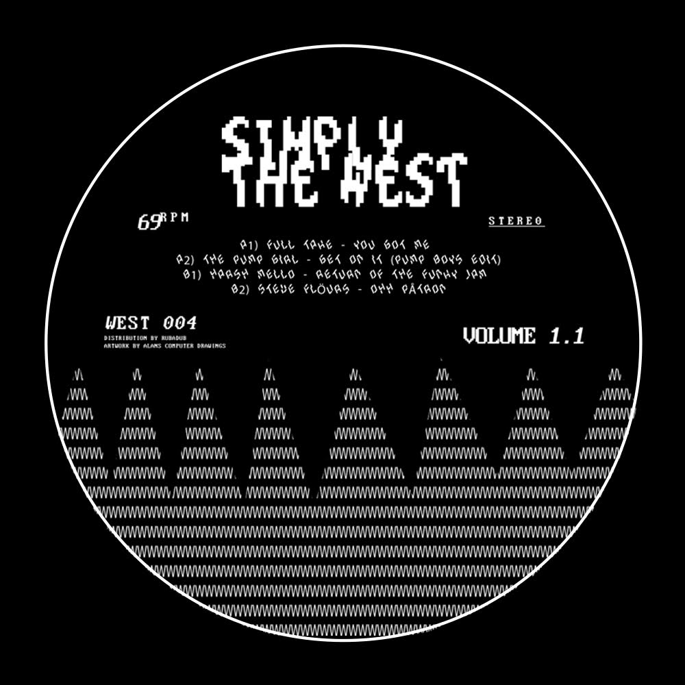 Various/SIMPLY THE WEST VOL. 01 EP 12""
