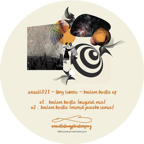 """Tony Lionni/HARLEM HUSTLE EP 12"""""""