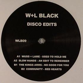 """W+L Black/DISCO EDITS 12"""""""