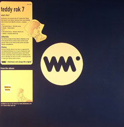 Teddy Rok 7/FEEL & STEADY REMIXES 12""