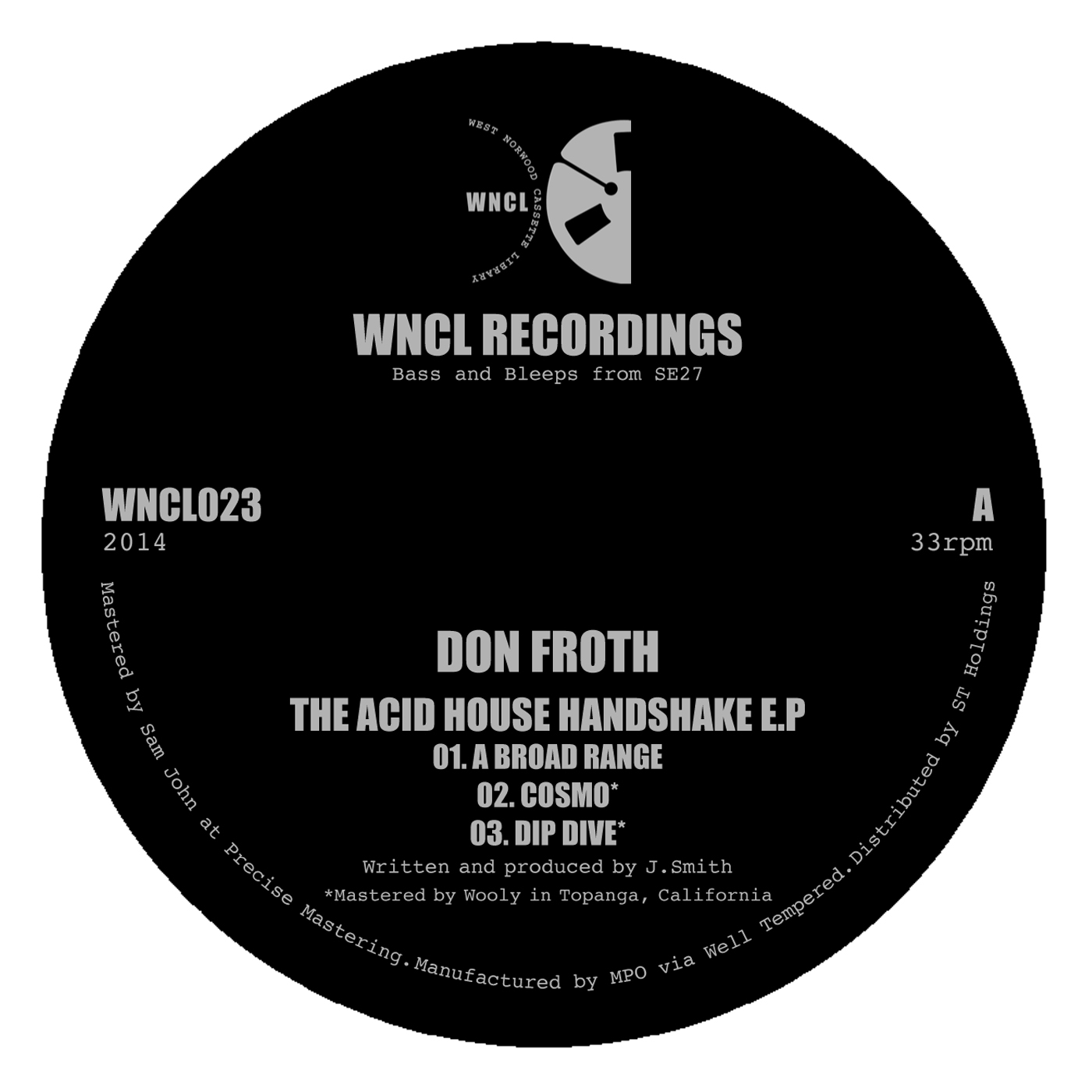 Don Froth/ACID HOUSE HANDSHAKE EP 12""