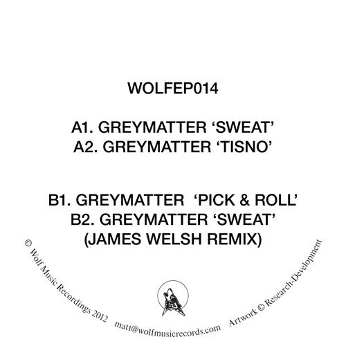 """Greymatter/WOLF EP 14 12"""""""