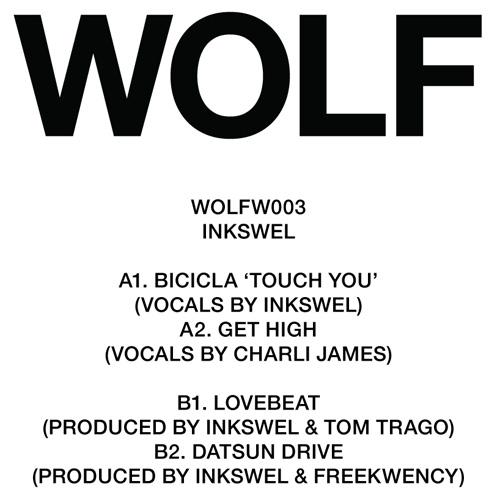 """Inkswel/WOLFW003 EP 12"""""""
