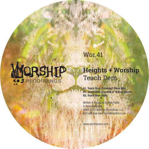 "Heights & Worship/TEACH DEM 12"""