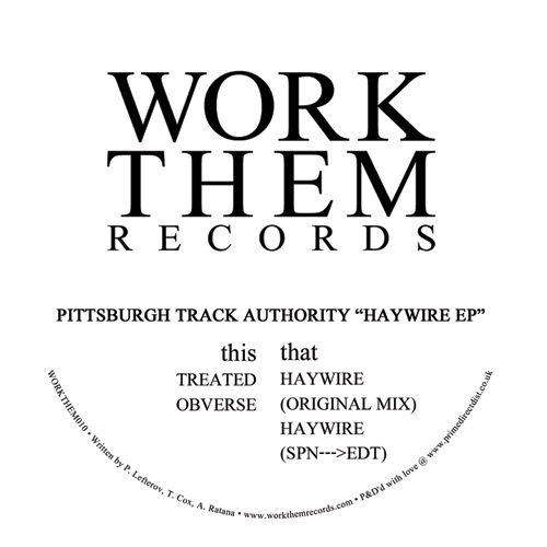Pittsburgh Track Authority/HAYWIRE 12""