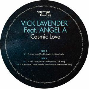 """Vick Lavender/COSMIC LOVE 12"""""""