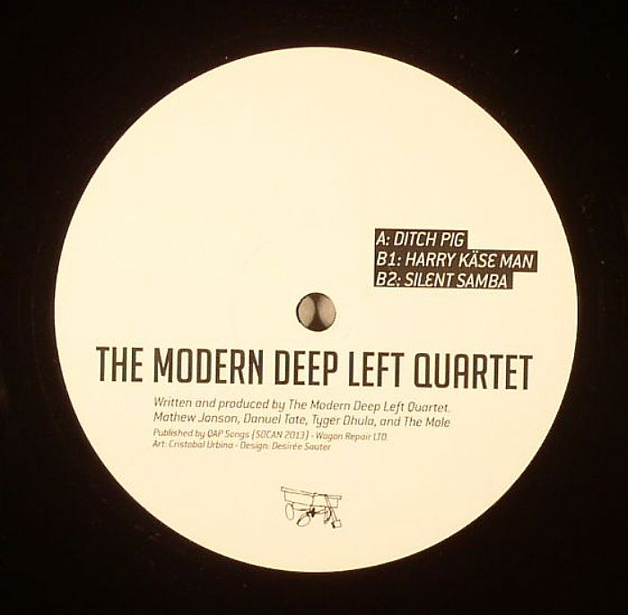 Modern Deep Left Quartet/DITCH PIG 12""